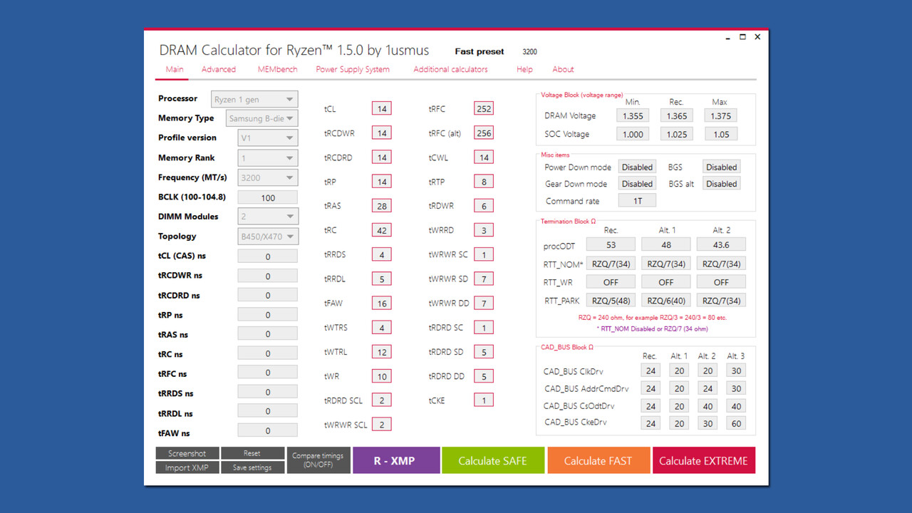 DRAM Calculator for Ryzen: Tool hilft beim Übertakten des RAM auf