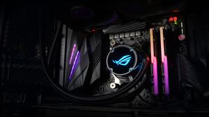ROG Strix LC: Asus stellt günstigere Ryuo-AiO ohne OLED-Panel vor