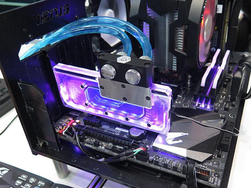 SSD mit Wasserkühler von tigo