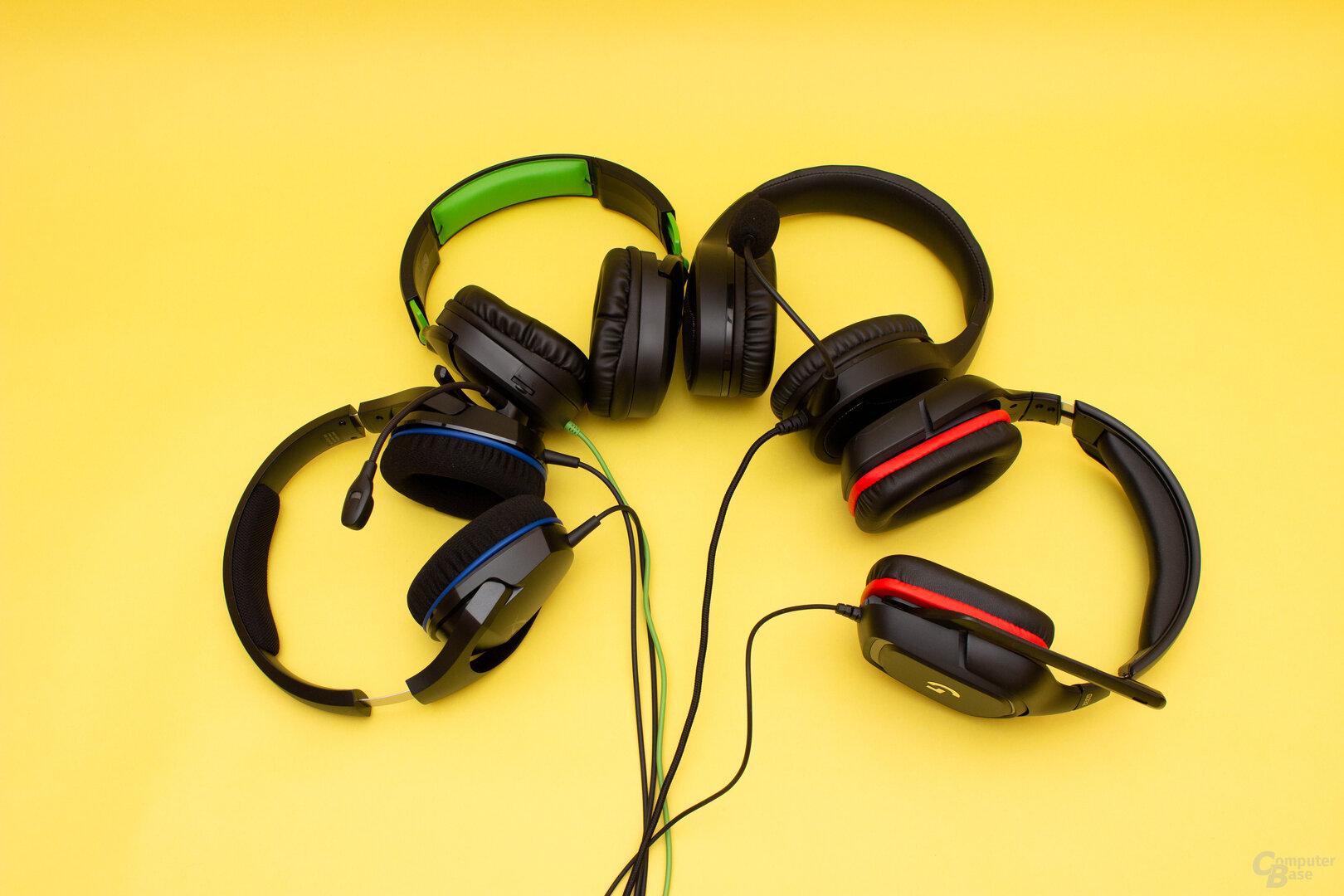Headsets unter 50 Euro im Test
