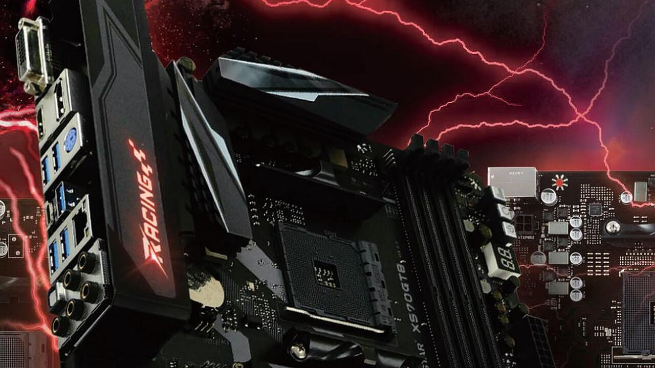 Racing X570GT8: Biostar enthüllt erstes X570-Mainboard mit PCIe 4.0
