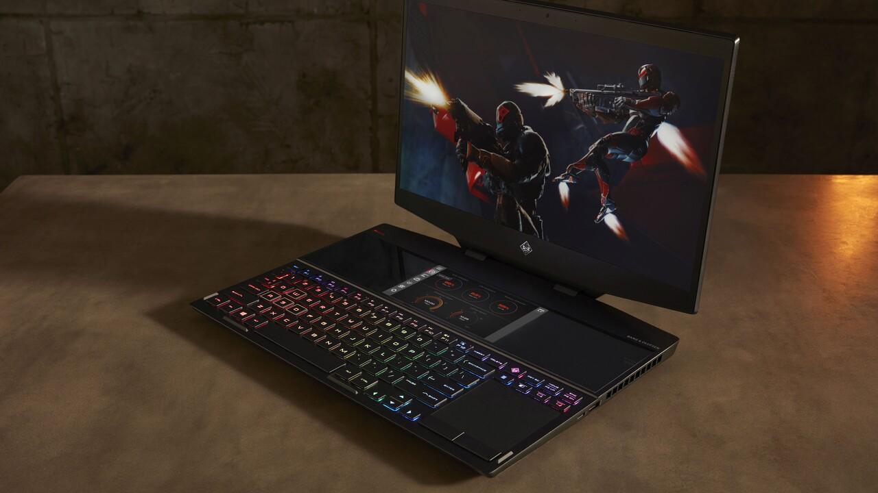 Omen X 2S: Gaming-Notebook mit Zweit-Display und Flüssigmetall