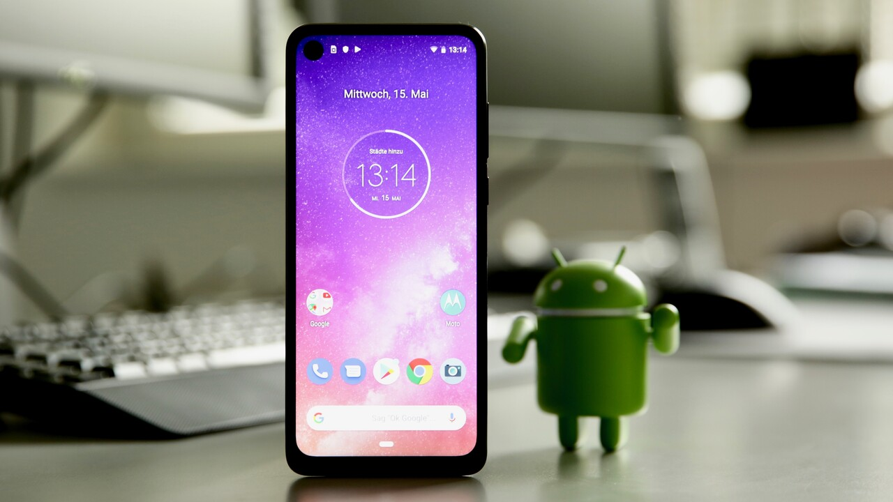 Motorola One Vision: Updates, 48 Megapixel und 21:9-Display für 299 Euro