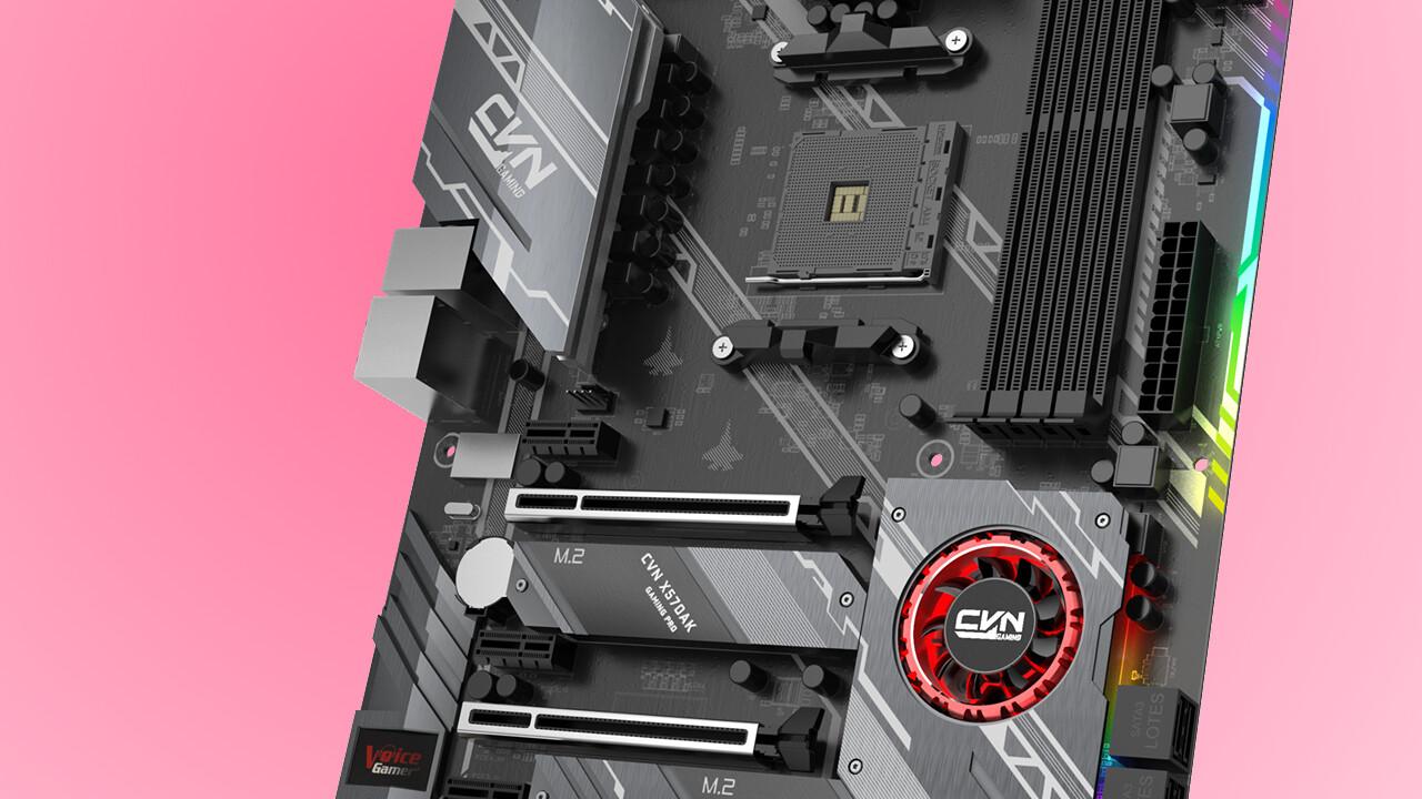 Colorful X570AK Gaming Pro: Das nächste X570-Mainboard mit Chipsatzlüfter