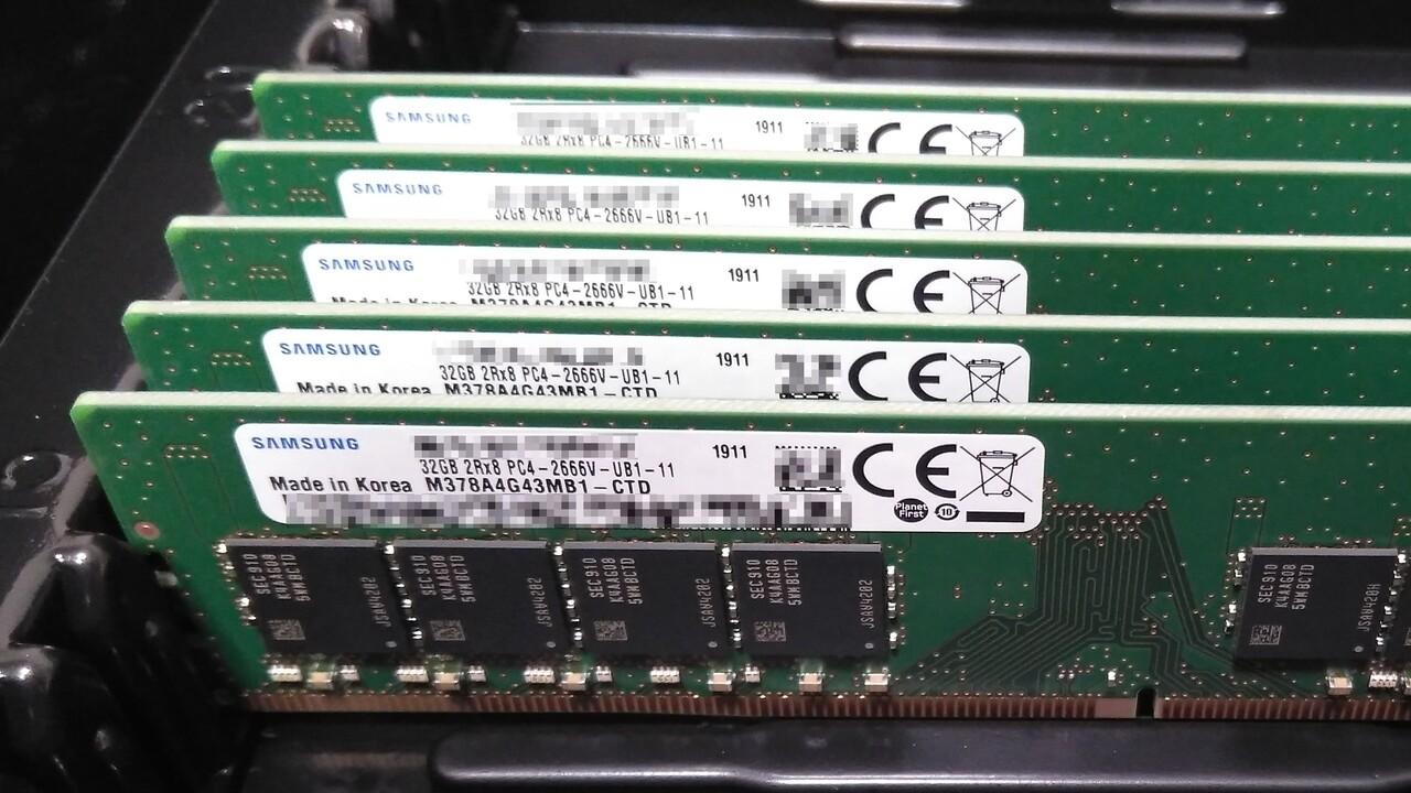 Jetzt verfügbar: 32 GB DDR4 UDIMM mit ECC von Samsung