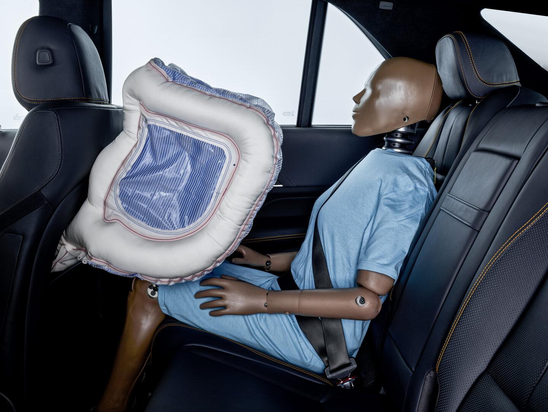 Airbag im Fond