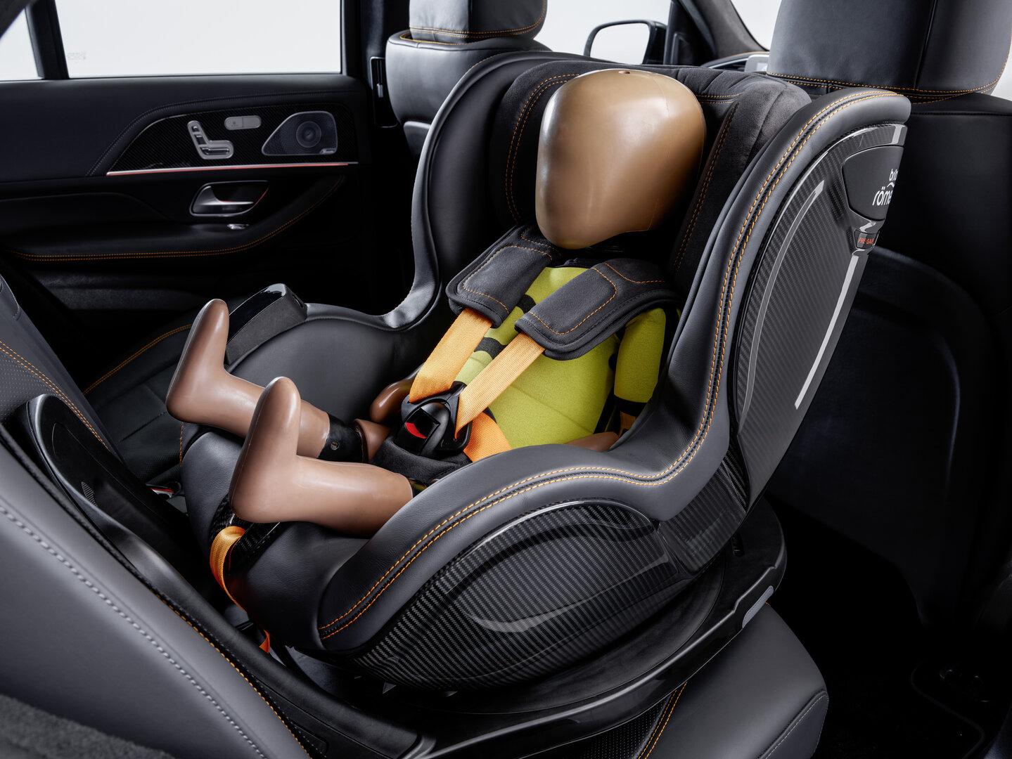 Pre-Safe-Child-Kindersitz aus Kooperation mit Britax Römer
