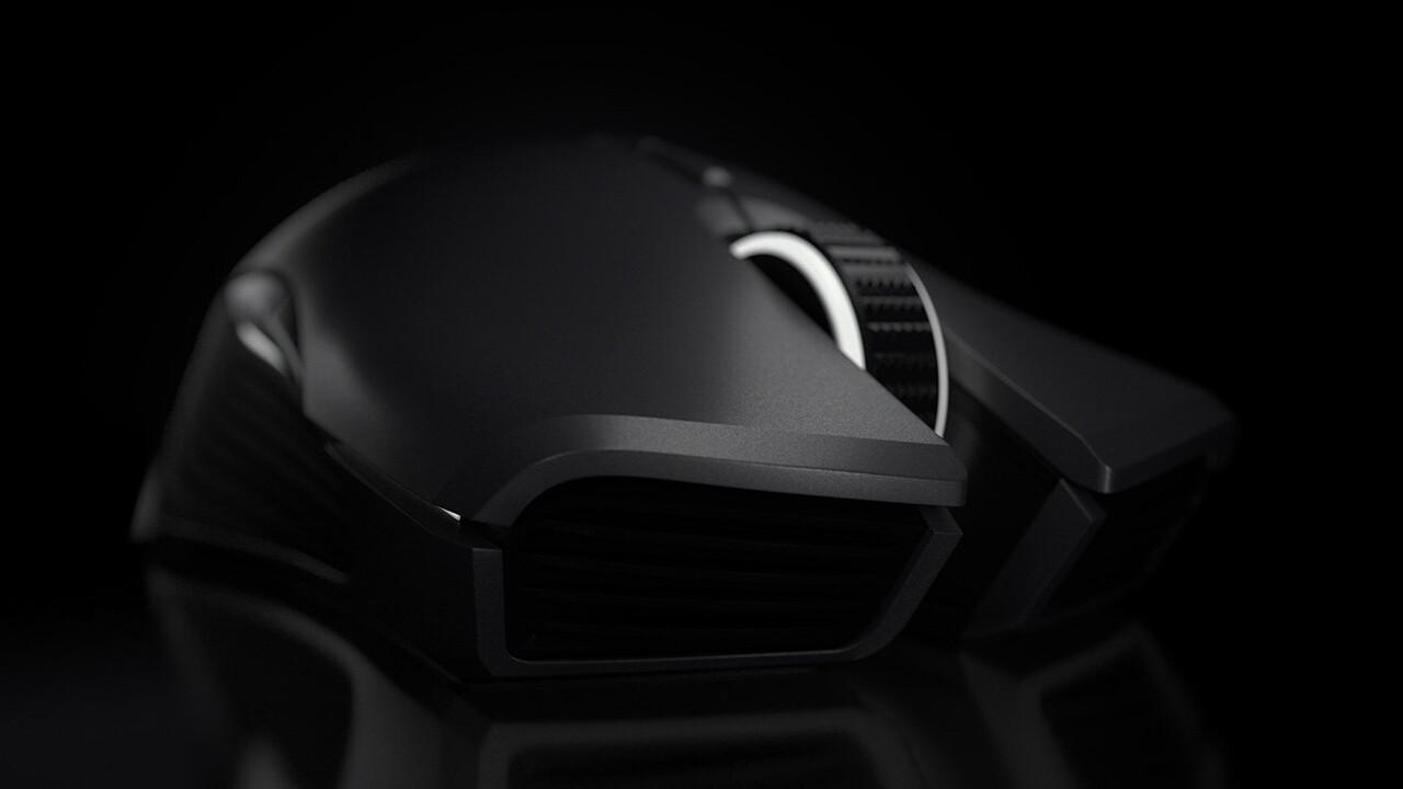 Lancehead Wireless: Razer legt symmetrische Maus für 150 Euro neu auf