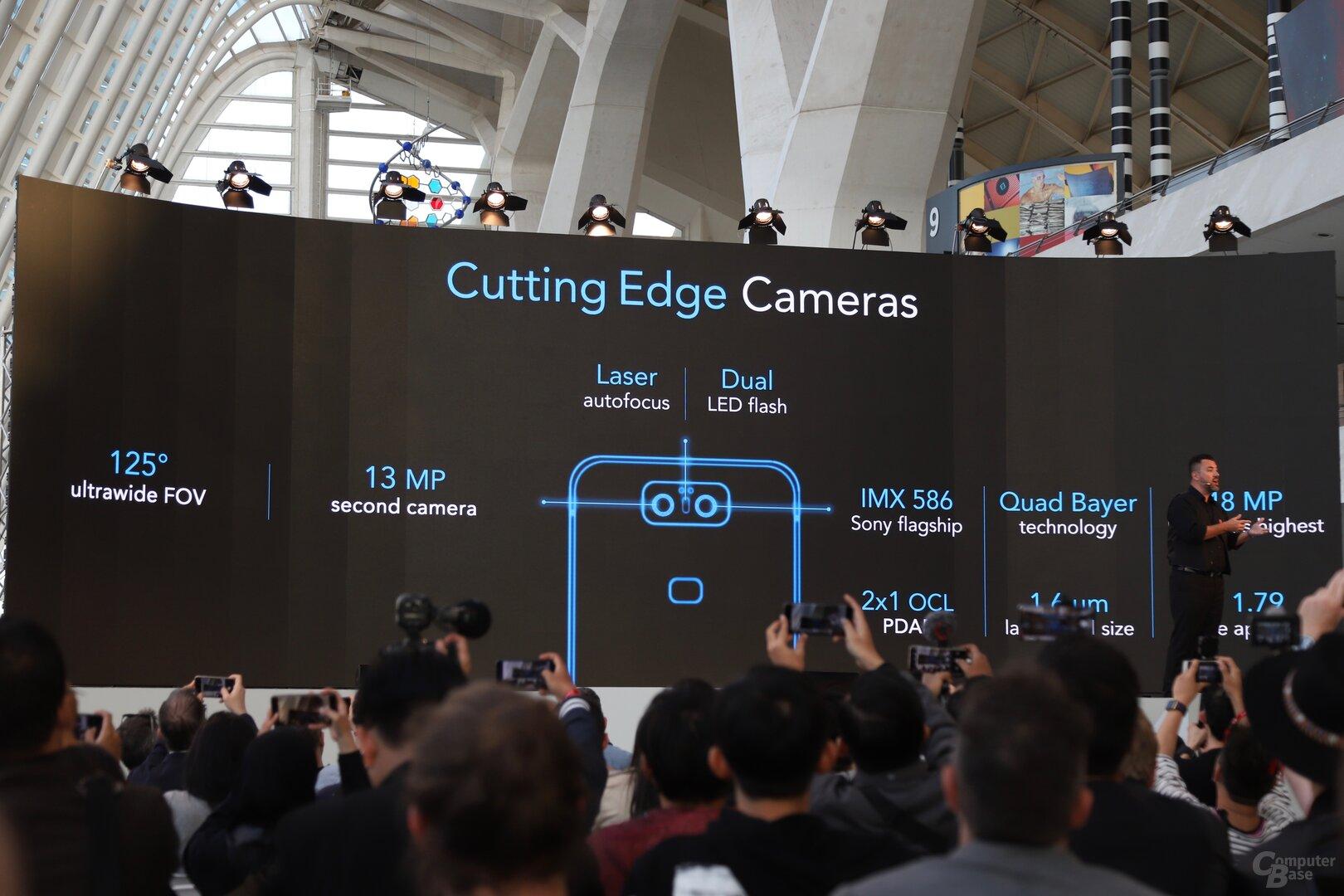Dual-Kamera-System mit Sensoren von Sony