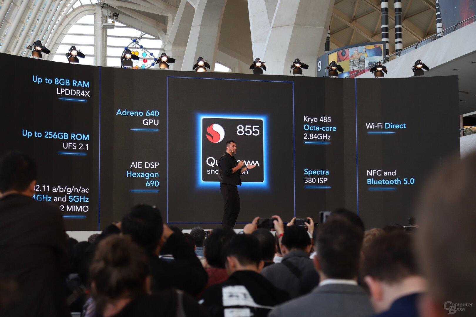 Snapdragon 855, viel RAM und ROM