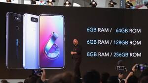 Asus Zenfone 6: Klapp-Kamera, Snapdragon 855 & 5.000 mAh ab 499 Euro