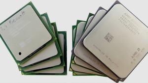 Im Test vor 15 Jahren: Athlon XP/64 und Pentium 4 im Stromverbrauchvergleich