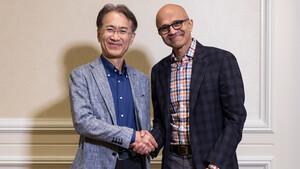Microsoft und Sony: Zusammenarbeit bei Game-Streaming & Kamerasensoren