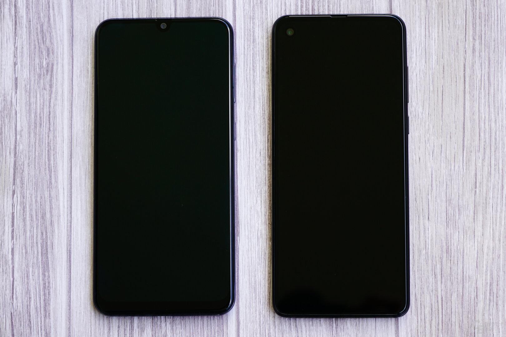 Galaxy A50 und One Vision im Vergleich