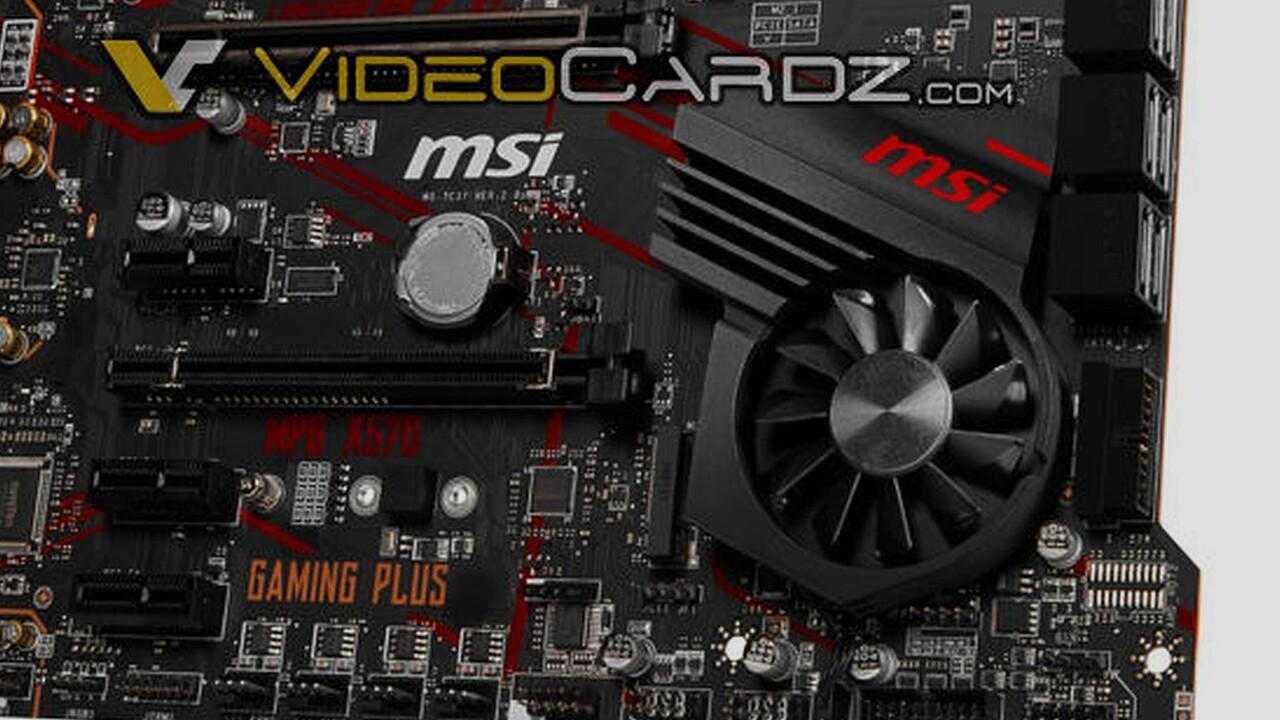 Auch mit Lüfter: MSI X570 Gaming Plus & X570 Gaming Pro gezeigt