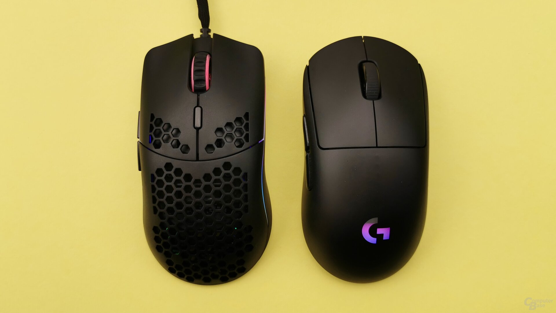 Glorious Model O im Vergleich zu Logitechs G Pro Wireless