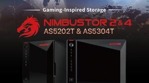 Asustor Nimbustor 2 und 4: NAS mit Dual-2,5-GBit-LAN, HDMI 2.0 und neuer Kennung