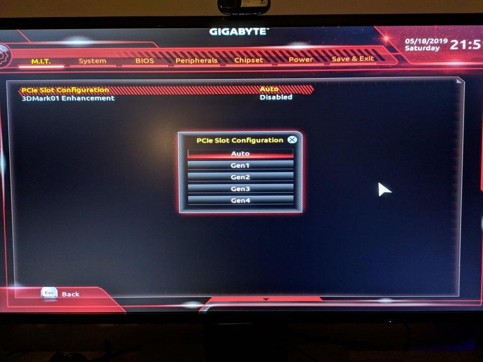 Gigabyte Aorus Gaming 7 WiFi mit f40-BIOS und PCIe 4.0