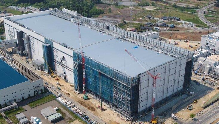 3D-NAND-Fabrik K1 in Kitakami (Japan)