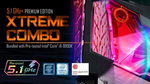 5,1 GHz Garantie: Gigabytes extremes Z390-Bundle kostet 1.900 Euro