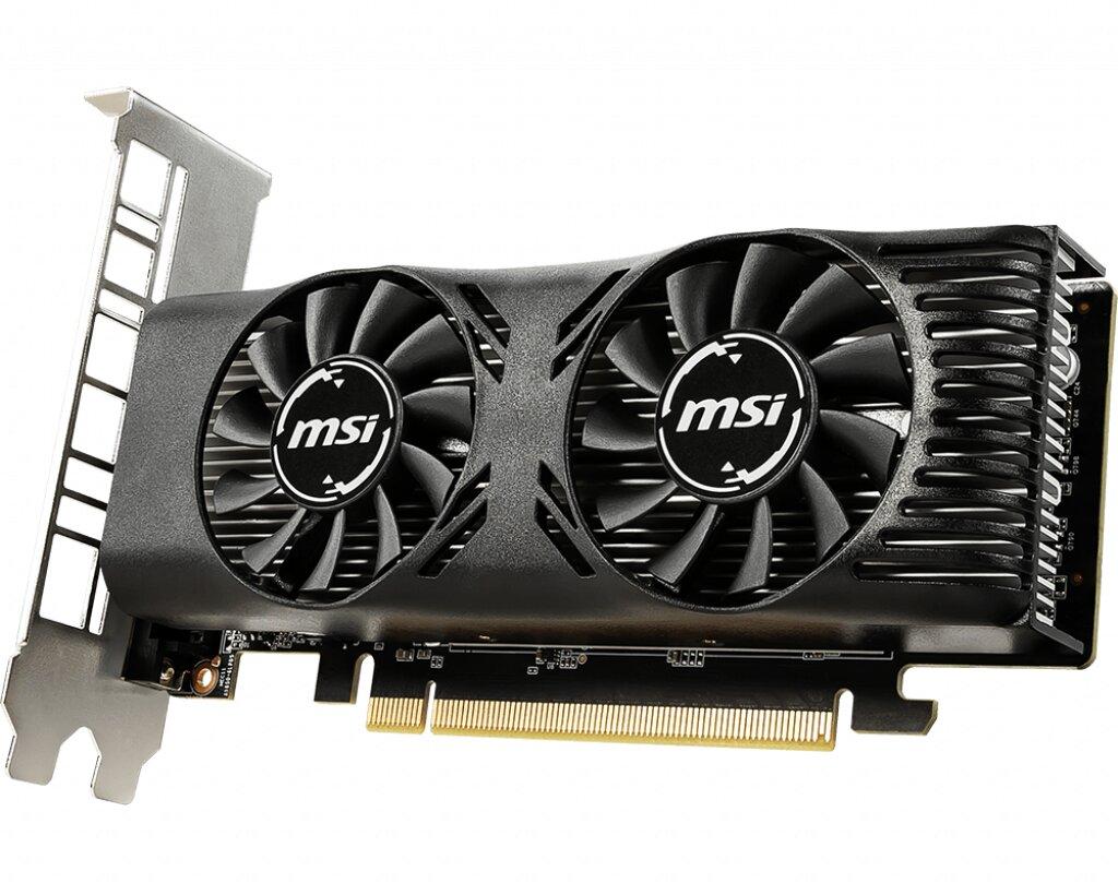 MSI GeForce GTX 1650 4GT LP (OC)