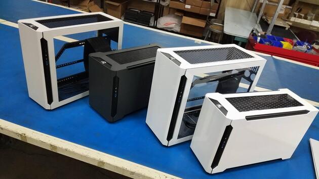SM550, -560, -570 & -580: Sliger macht DAN Cases mit dessen Konzept Konkurrenz