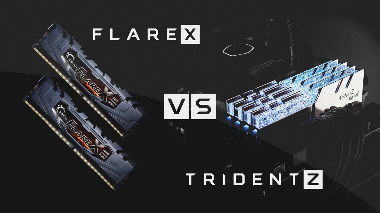 RAM-OC auf AMD Ryzen im Test: Flare X & Trident Z Royal mit optimierten Taktraten & Timings
