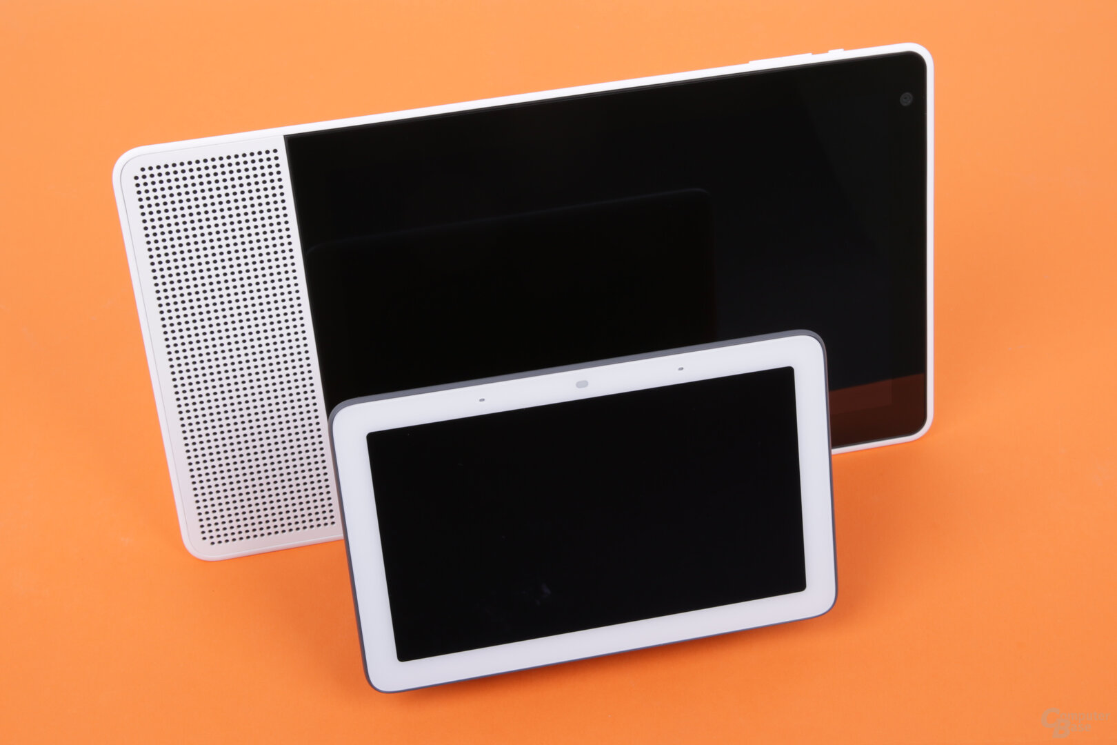 Google Nest Hub und Lenovo Smart Display 10