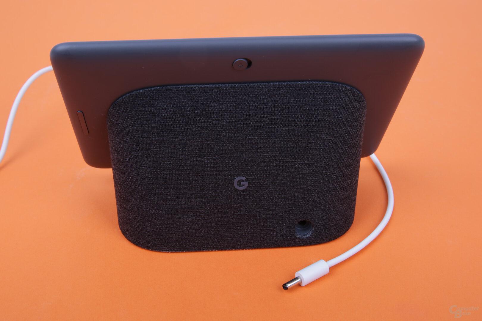 Google Nest Hub: kein USB für den Strom