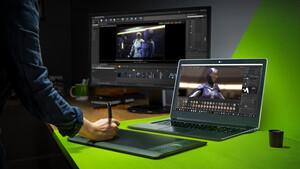Nvidia Studio Laptops: Notebooks mit bis zu 16 GB Grafikspeicher für Kreative