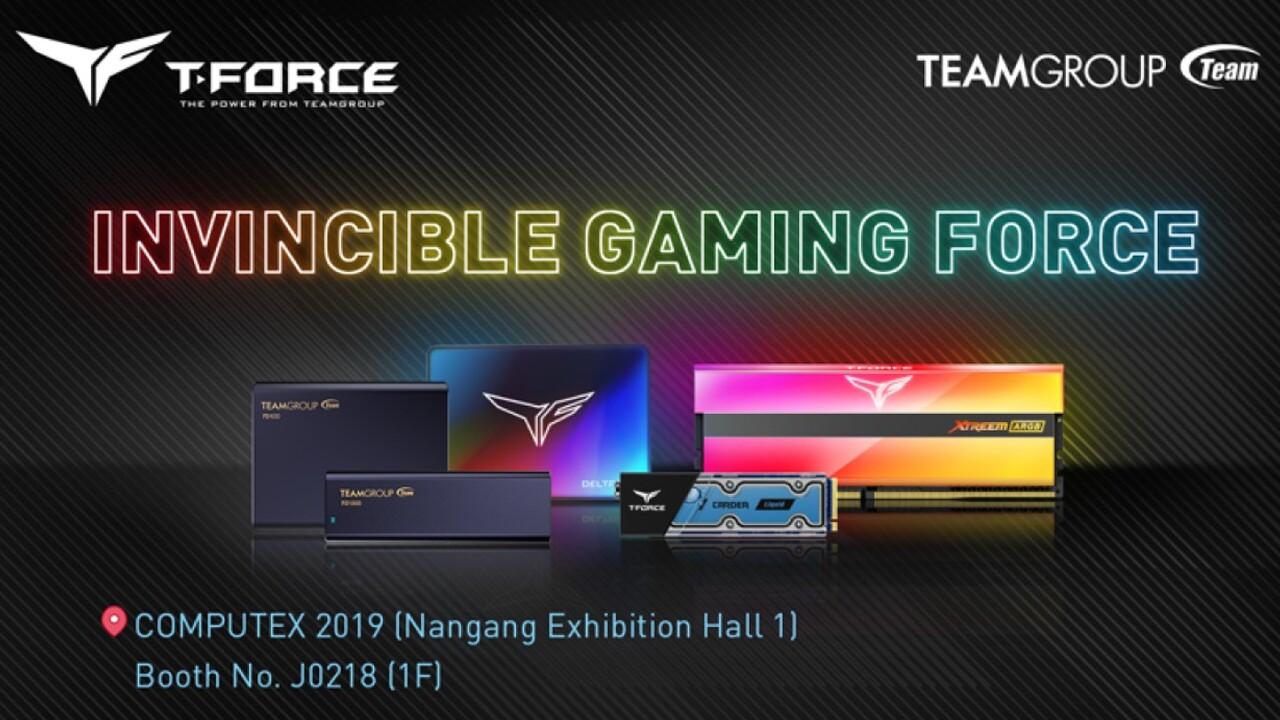 Team Group zur Computex: RGB-RAM, neue SSDs und USB-Sticks in T-Force-Familie