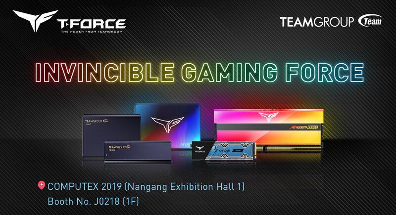 Team Group baut das T-Force-Label zur Computex 2019 weiter aus