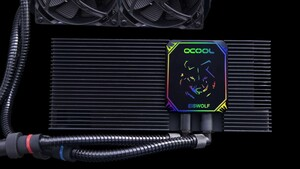 Alphacool: RGB-Update und Wasserkühlung für Server