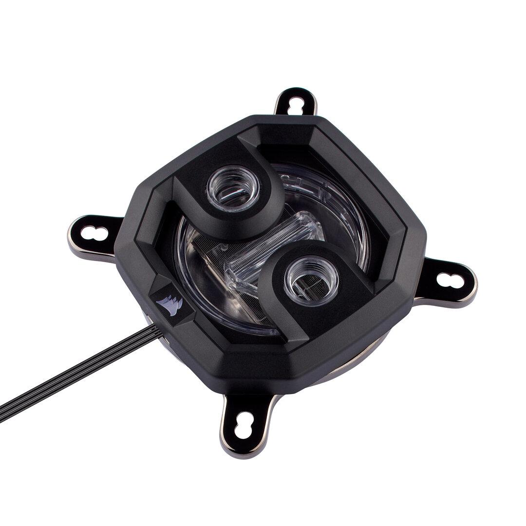 Corsair Hydro X XC7: CPU-Wasserkühler in Schwarz