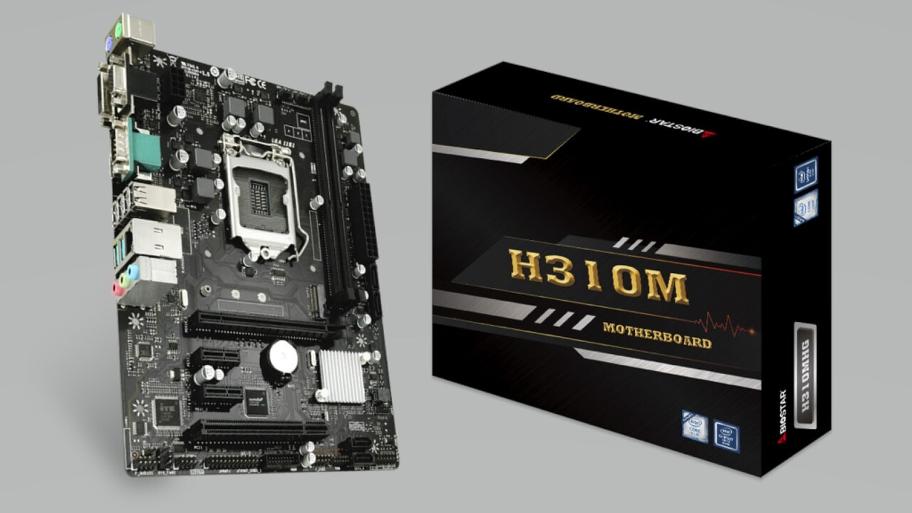 Biostar H310MHG: Günstiges H310-Mainboard in µATX für Coffee Lake Refresh
