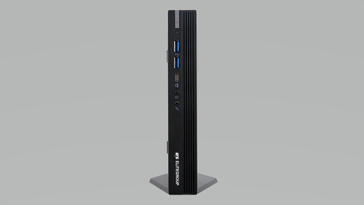 1L-Mini-PC mit AMD Ryzen: ECS steckt Ryzen-APU mit 35 Watt TDP in Liva SF110-A320