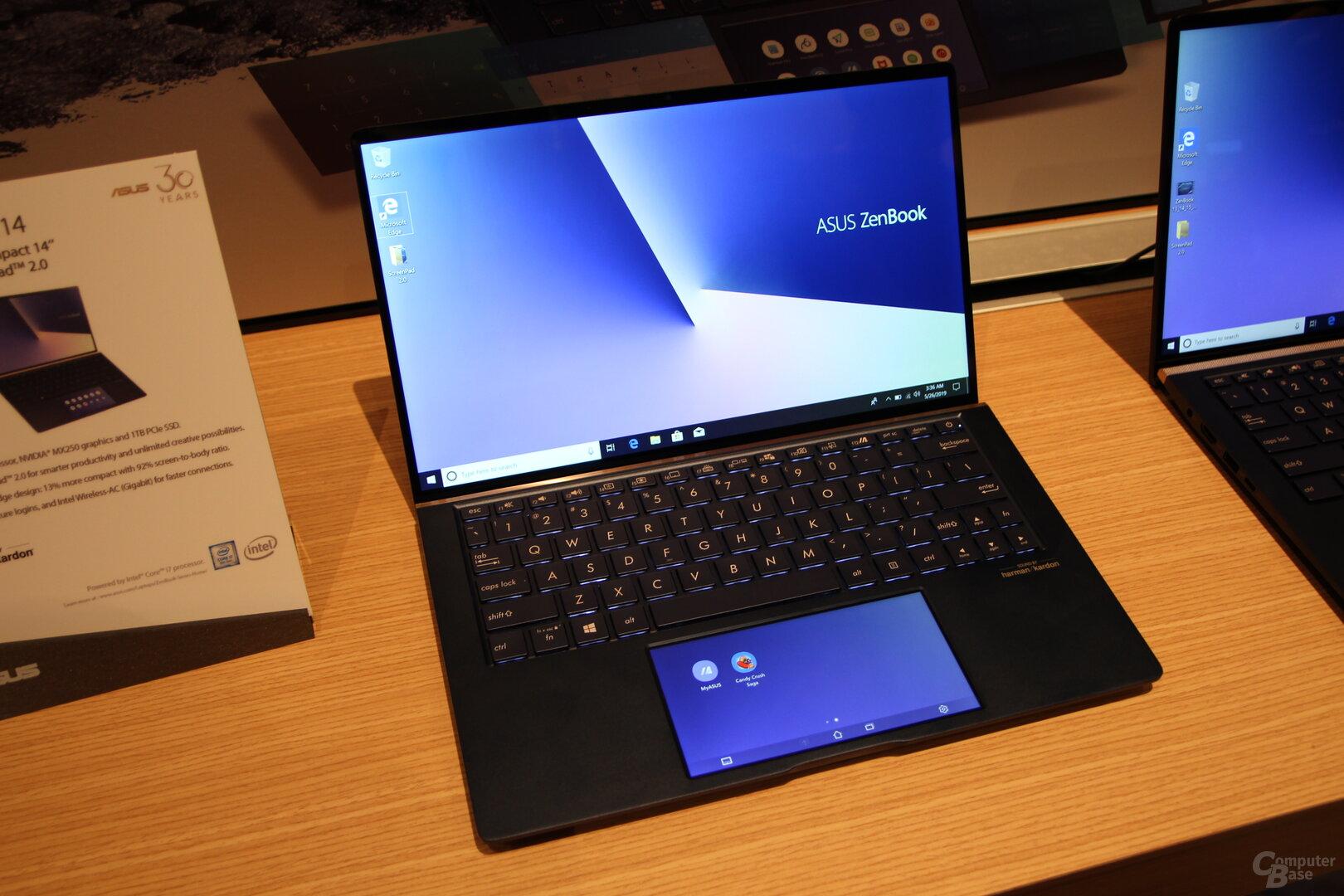 Das neue ZenBook mit ScreenPad