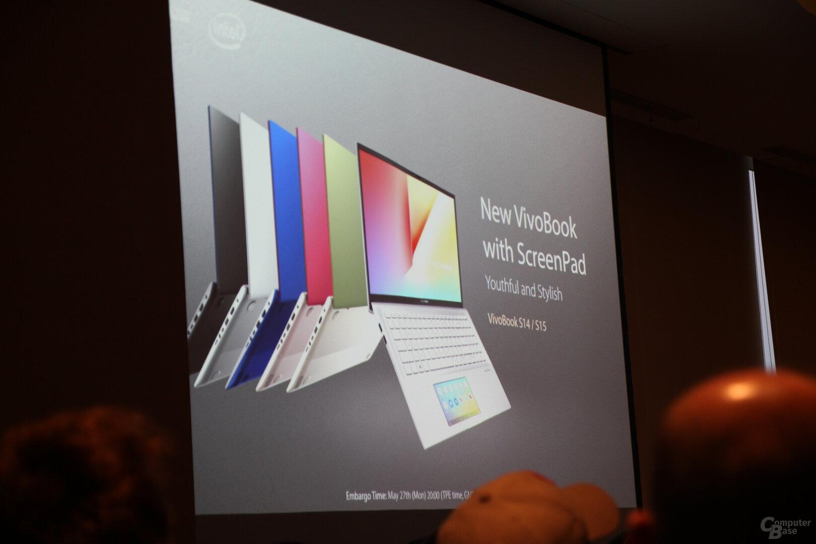 Das neue VivoBook mit ScreenPad