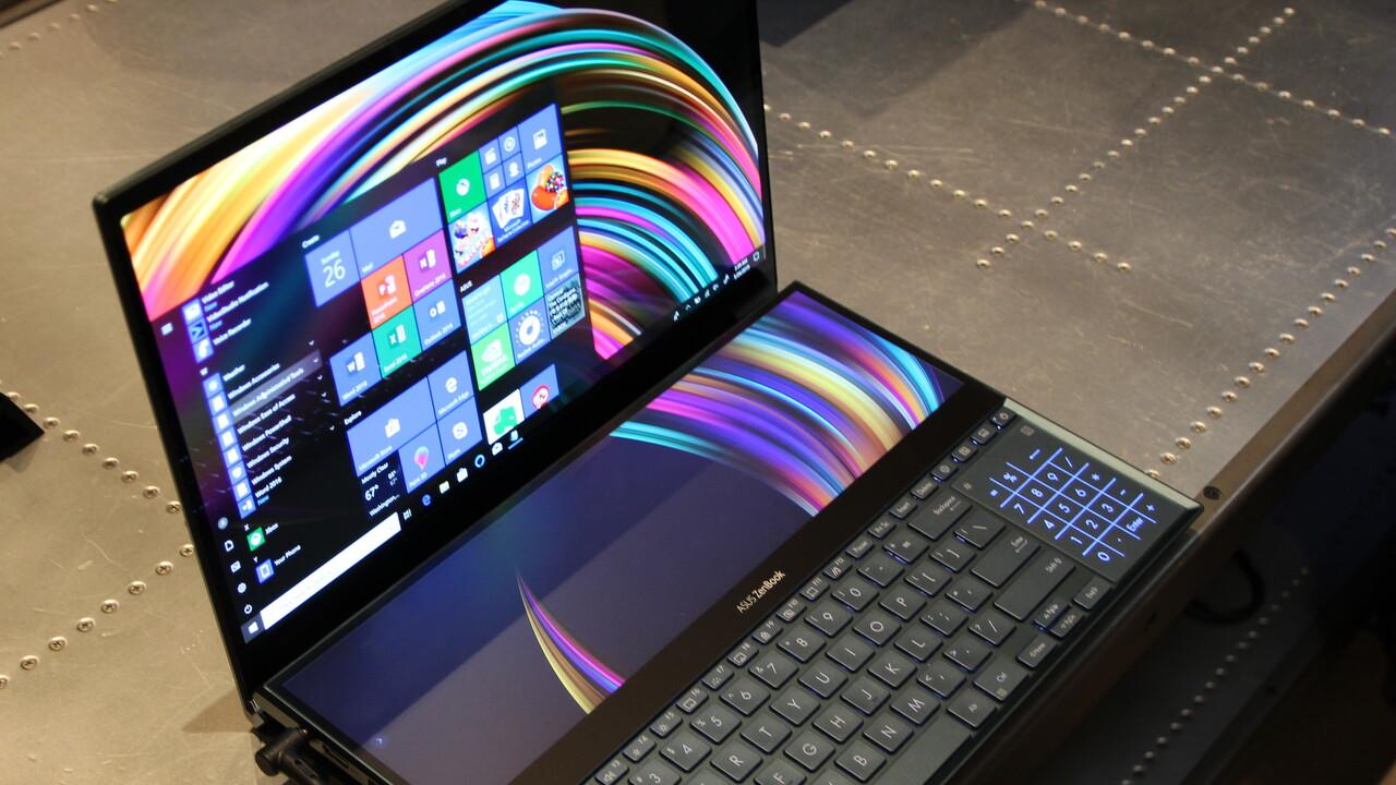 """ZenBook Pro Duo: Asus hat jetzt ein """"Notebook der Zukunft"""""""