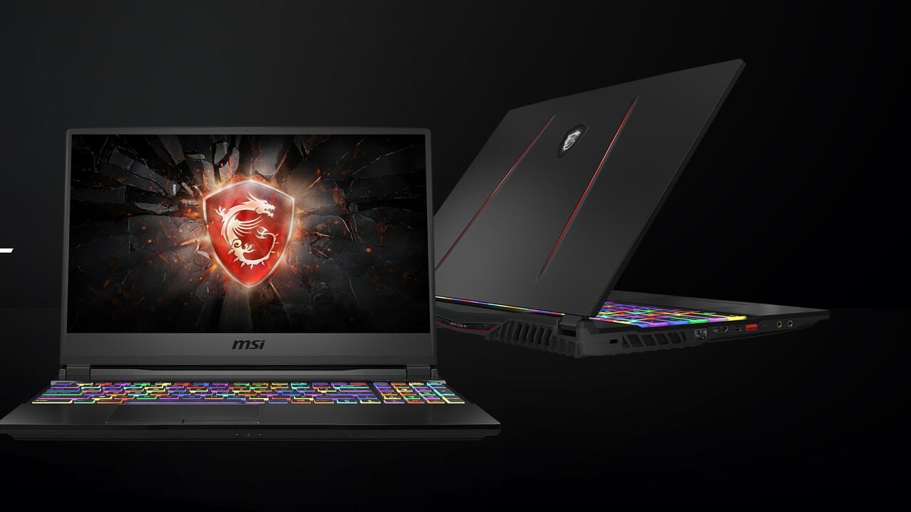 """MSI GE65 Raider: 15,6""""-Notebook mit 240-Hz-Display, RTX-GPU und Wi-Fi 6"""