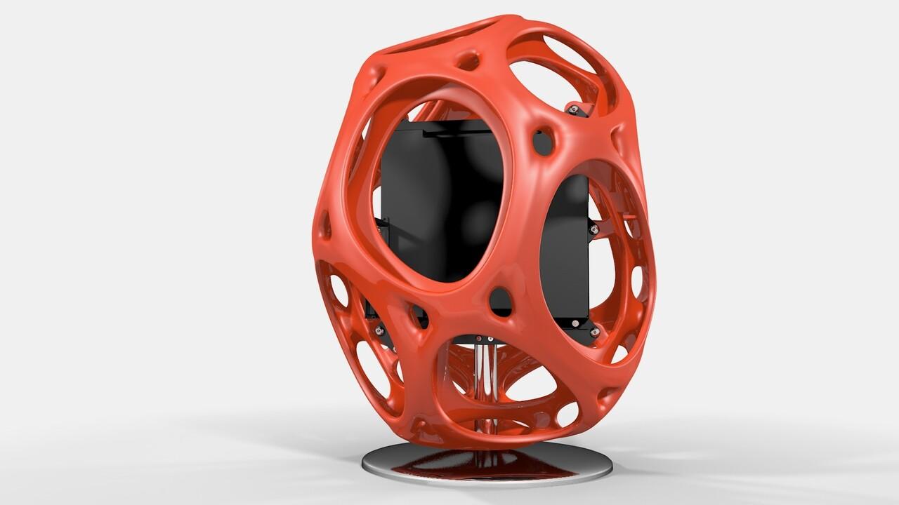 Gehäuse: In Win zeigt Kunststoff-Box und Display-Tower