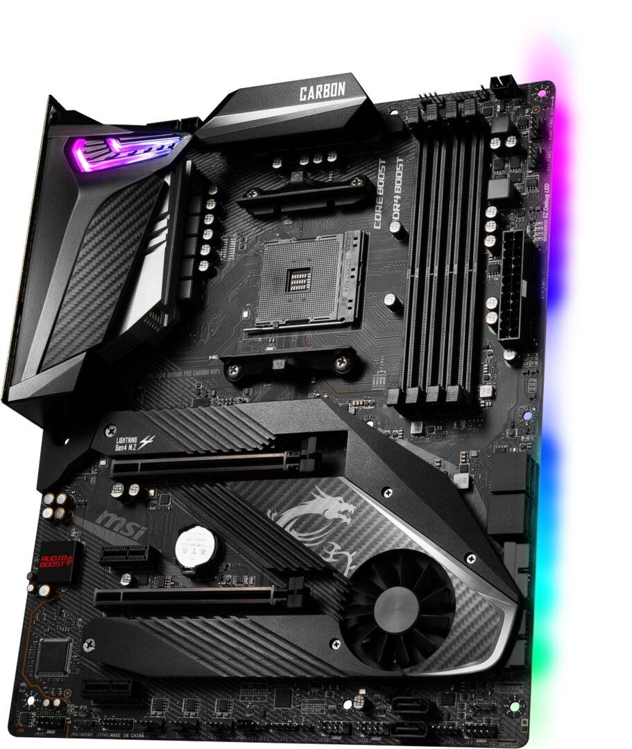 X570-Mainboards: MSI mit sechs Modellen bis zum