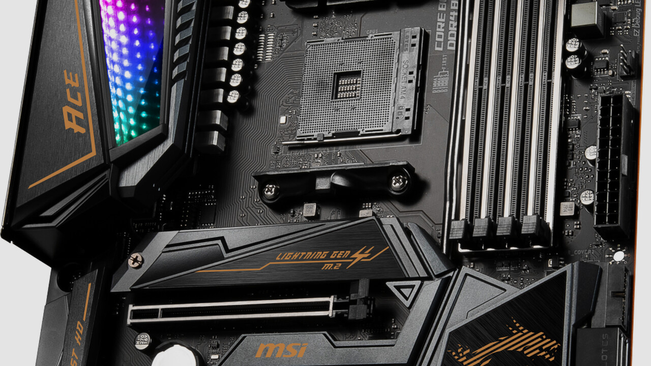 X570-Mainboards: MSI mit sechs Modellen bis zum kostspieligen Godlike