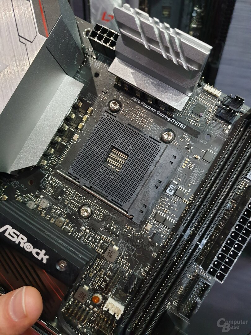 ASRocks X570-Mini-ITX-Platine nimmt nur Intel-Kühler