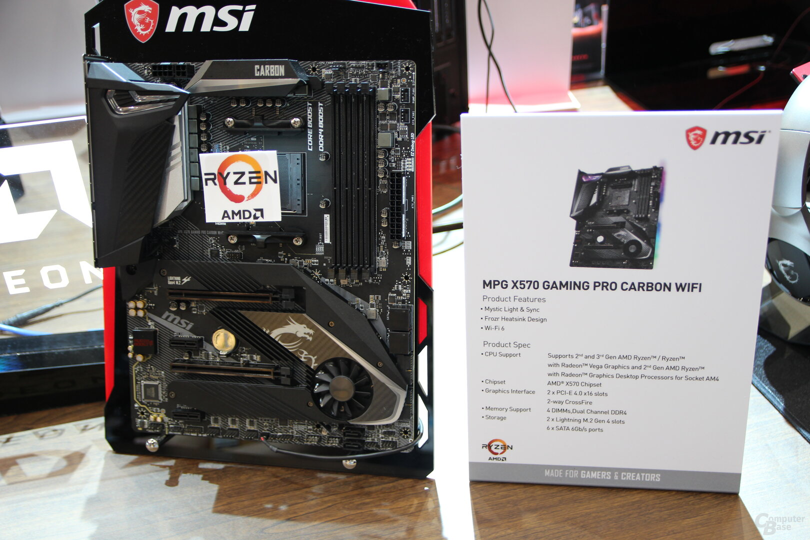 MSI X570 Mainboards