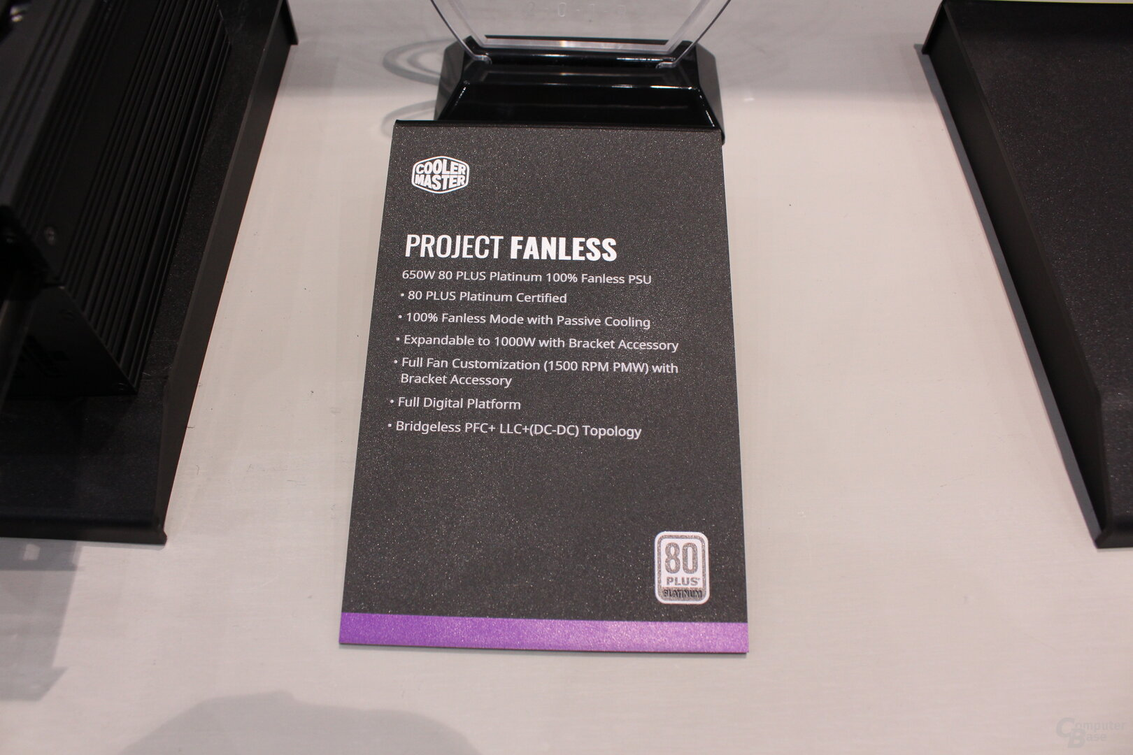 Cooler Master Project Fanless