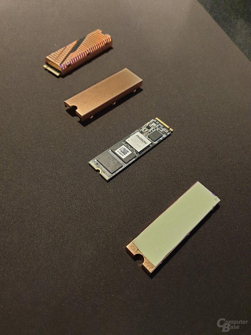 Gigabyte Aorus NVMe Gen4 SSD mit Kühler