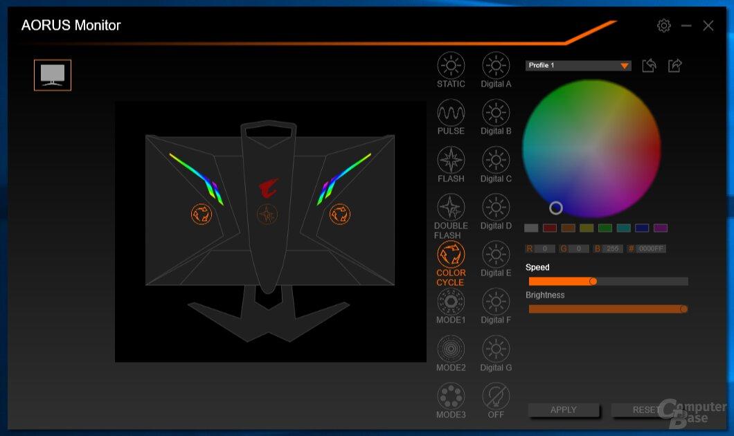 Gigabyte Aorus RGB Fusion 2.0