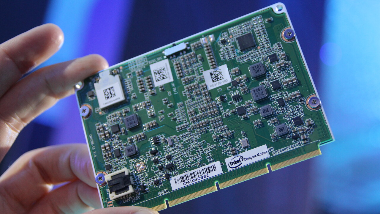 Intel Mini-PC: Auf die Compute Card folgt das NUC Compute Element