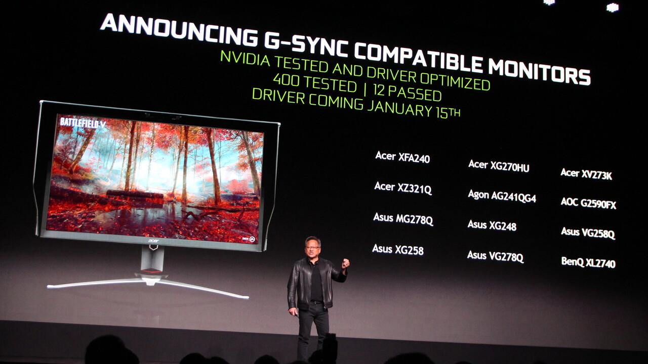 G-Sync-Kompatibilität: Nvidia begründet die Durchfallquote von 95Prozent